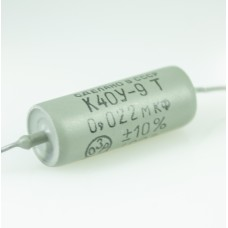 400V / 0.022uF (22nF=22000pF) K40Y-9T Tropical edition Paper in Oil (PIO) capacitor