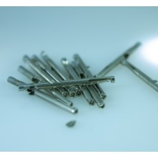 10 x Pins, universal for any tube. Nickel plated.