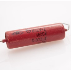 ORANGE 1600V / 0.022uF (22nF=22000pF) K42Y-2 Metal-Paper Capacitor