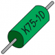 K75-10 Combined cacacitors