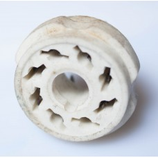 8-pin OCTAL SOCKET. 6N13S / 6SN7 type. Ceramical.