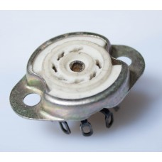 9-pin SOCKET PLK-9. 12AX7 / 6N1P type. B9A (Noval)