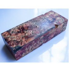 GRANITE two-colored stabilized wood, Karelian birch